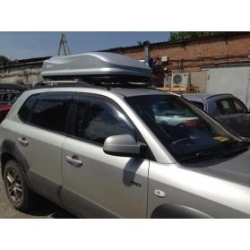 Бокс автомобильный Борнео 350 (серый металлик) (1470х890х400)