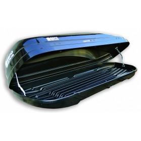 Бокс автомобильный Магнум 360 (2190х600х450) черный металлик