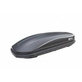 Бокс автомобильный Магнум 330 (1850х600х420) (Серый матовый)